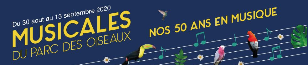 Musicales du Parc des Oiseaux 2020